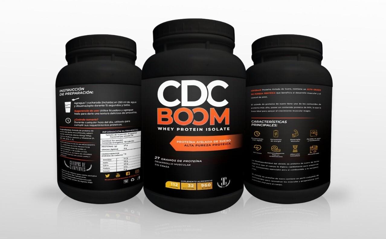 CDCBOOM Promoción 3×2 – Proteína